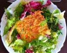 Soufflé léger au colin et petits légumes