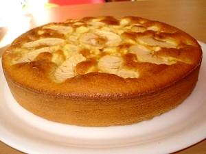 gateau-au-yaourt-aux-pommes-300x225