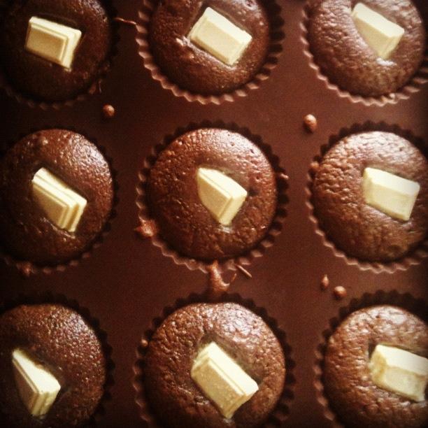petit dessert au chocolat